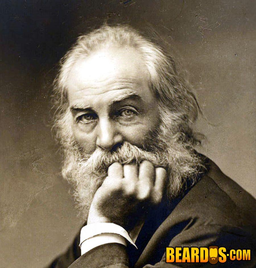 Walt Whitman beardo